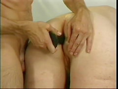 Gaby 87 y.o. granny makes her servants fuck her in all holes