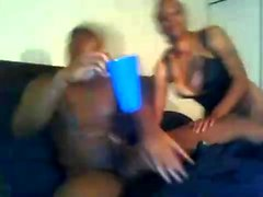 Black blowjob and cumshot for muscle black guy