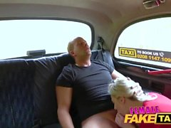 Female Fake Taxi Steamy cab fuck as wet pussy licked for free taxi trip