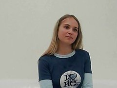 Czech casting with Veronika