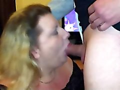 His cum can not be swallowed by her