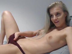 Home Alone - Cute Teen Masturbating Hard